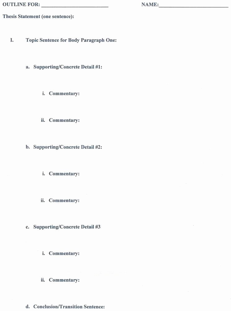 Mla format Outline Template New Wordpress Post Ethical asbestos Removal
