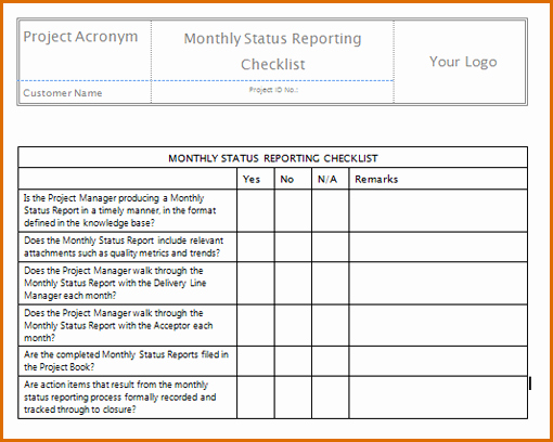 Monthly Report Template for Manager Awesome 7 Monthly Report Template