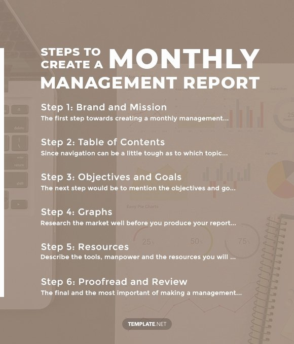 Monthly Report Template for Manager Best Of 40 Monthly Management Report Templates Pdf Google Docs