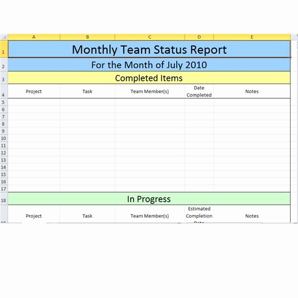 Monthly Report Template for Manager Elegant Bright Hub S Free Project Management Execution Templates