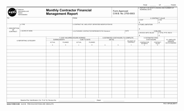 Monthly Report Template for Manager Elegant Download Monthly Management Report Template for Free