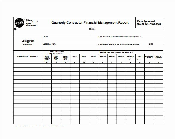 Monthly Report Template for Manager Inspirational Free 29 Monthly Report Templates In Pdf Word
