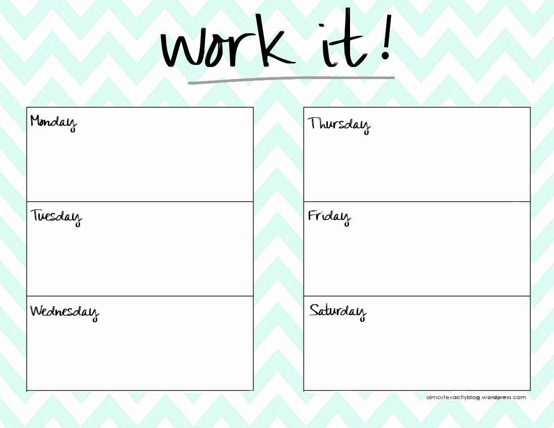 Monthly Workout Schedule Template Awesome Page Not Found