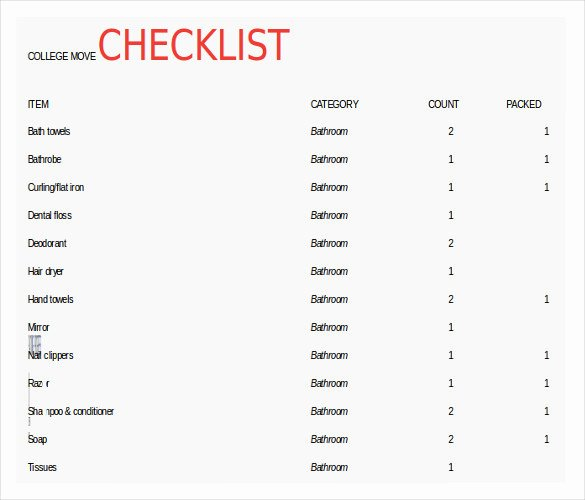 Moving Inventory List Template Elegant Moving Inventory Template – 15 Free Excel Pdf Documents