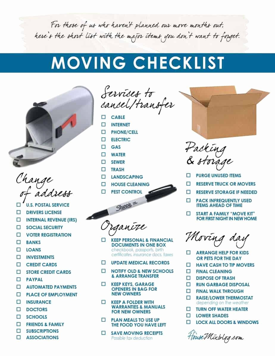 Moving Inventory List Template Unique 5 Moving Inventory List Templates – Word Templates