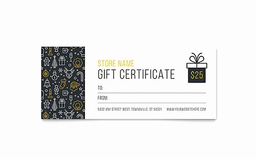 Ms Publisher Certificate Templates Fresh Gift Certificate Templates Microsoft Word & Publisher