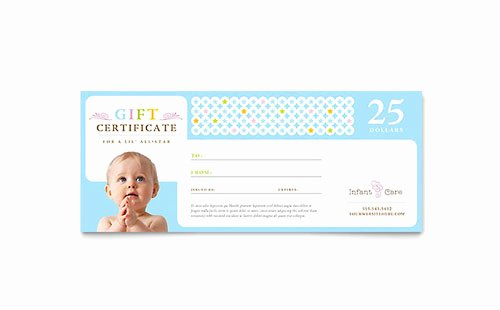 Ms Publisher Certificate Templates Lovely Infant Care & Babysitting Brochure Template Word & Publisher