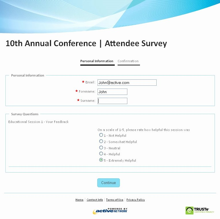 Network Site Survey Template Awesome Sample Survey form Create An Line Survey form