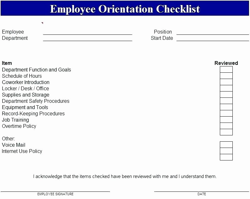 New Hire Checklist Template Word Best Of Onboarding Schedule Template – Jonathanbaker
