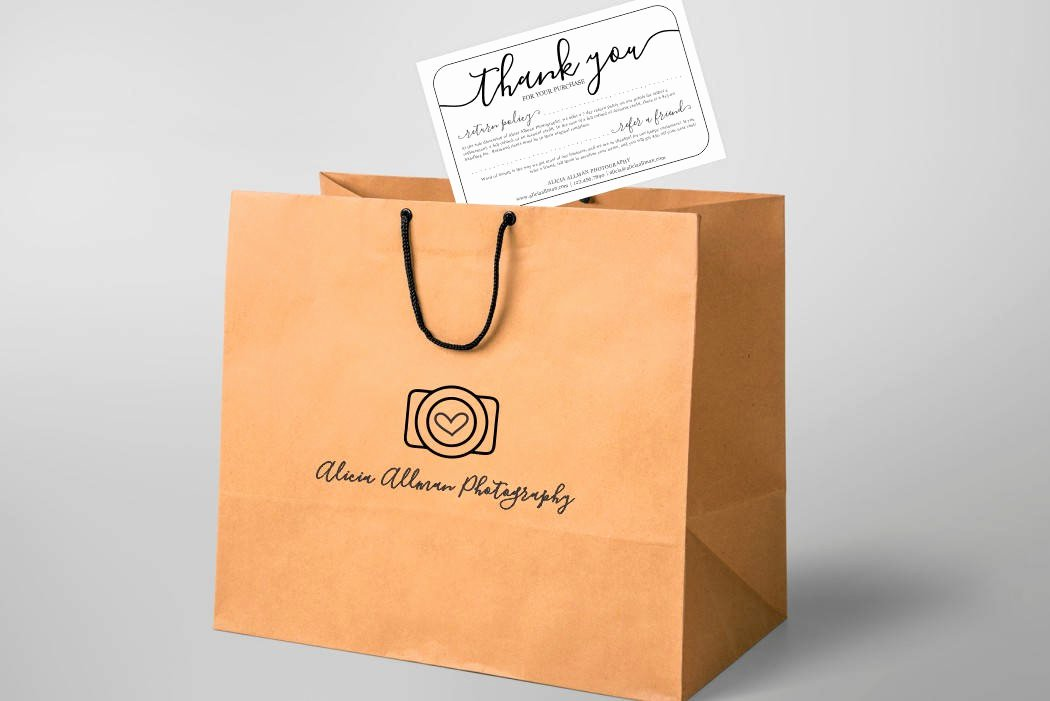 No Refund Policy Template Awesome Printable Return Policy & Thank You Card Template No Color