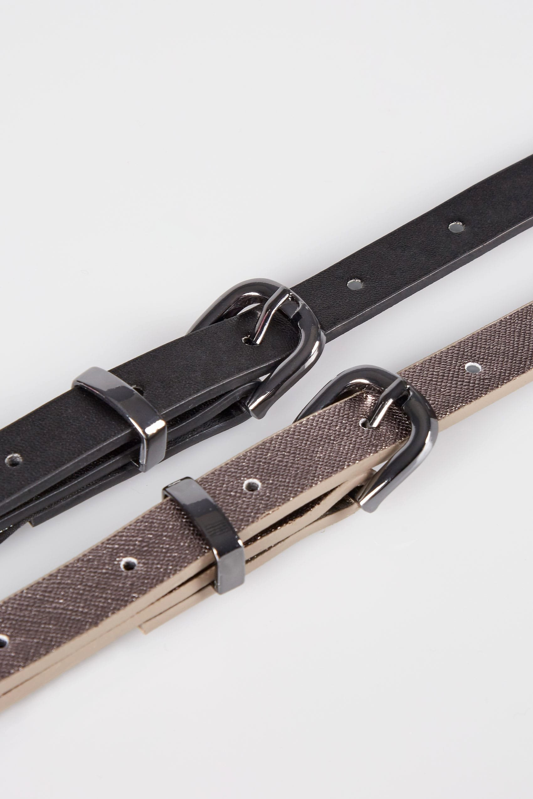 No Return Policy Template Awesome 2 Pack Black & Metallic Skinny Belts Plus Size 16 to 32