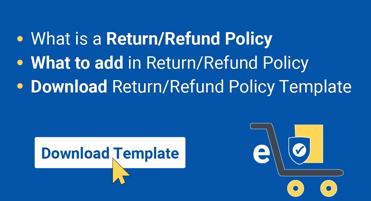 No Return Policy Template Awesome Sample Return Policy for E Merce Stores Termsfeed