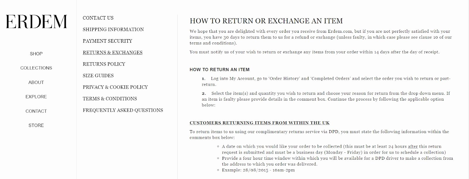 No Return Policy Template Lovely How to Write An E Merce Return Policy Template Real