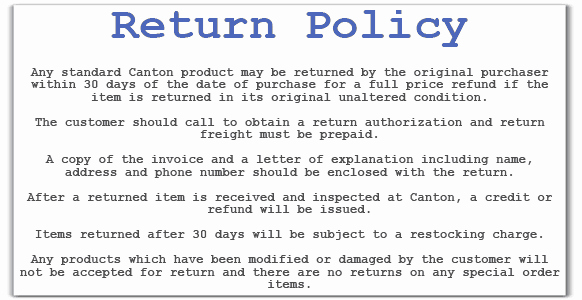 No Return Policy Template Luxury Return Policy Templates Word Excel Samples