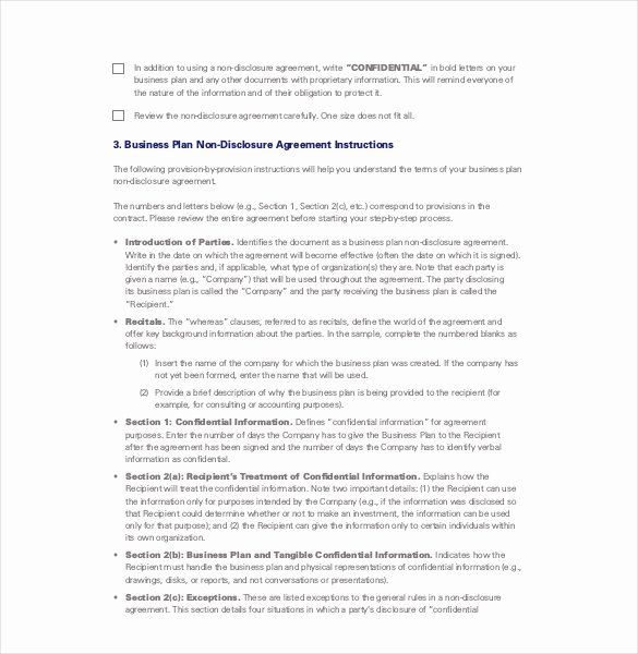 Non Disclosure Agreement Template Pdf Lovely Non Disclosure Agreement Template 21 Free Word Excel
