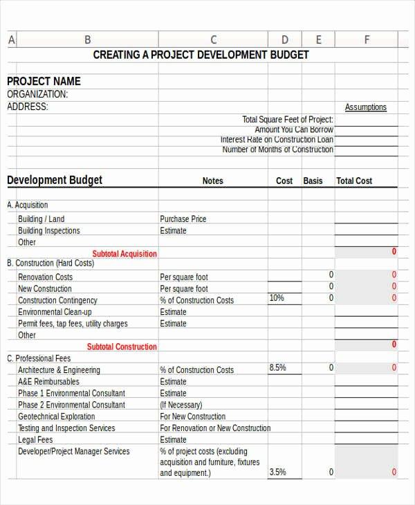 Non Profit Budget Template Elegant 12 Non Profit Bud Templates Word Pdf Excel Google