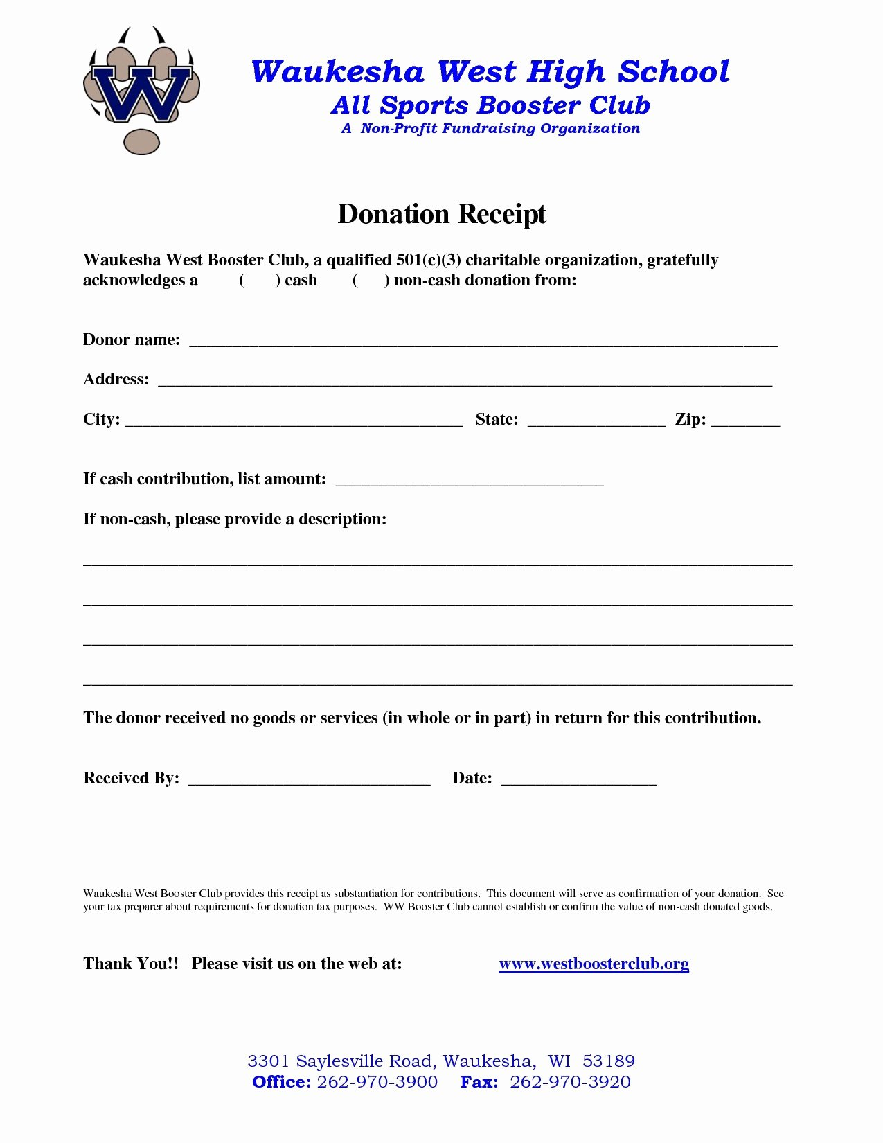 Non Profit Donation Receipt Template Elegant Immigration Letter Support for A Friend Template