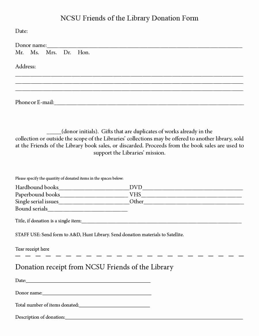 Non Profit Donation Receipt Template Lovely 40 Donation Receipt Templates & Letters [goodwill Non Profit]