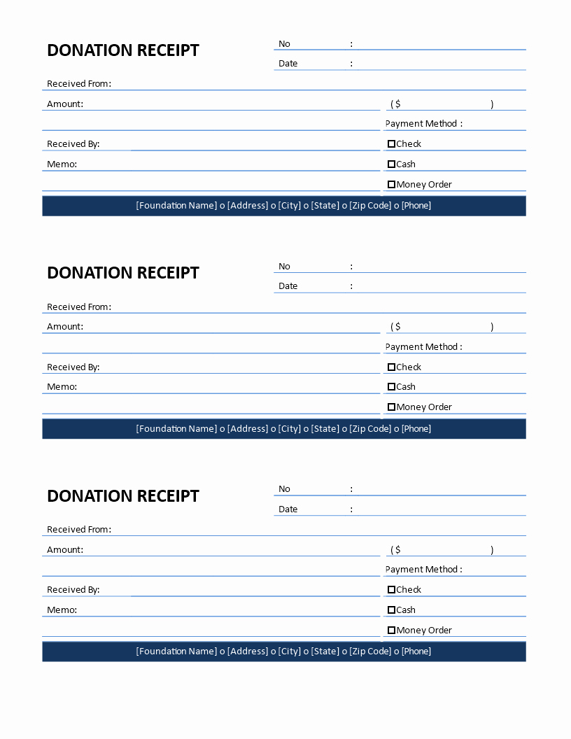 Non Profit Donation Receipt Template Luxury Non Profit Donation Receipt for Cash Donation