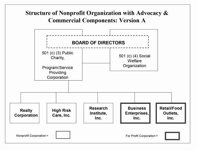 Non Profit organization Structure Template Awesome Charities Lobbying & 501 C 4 organizations