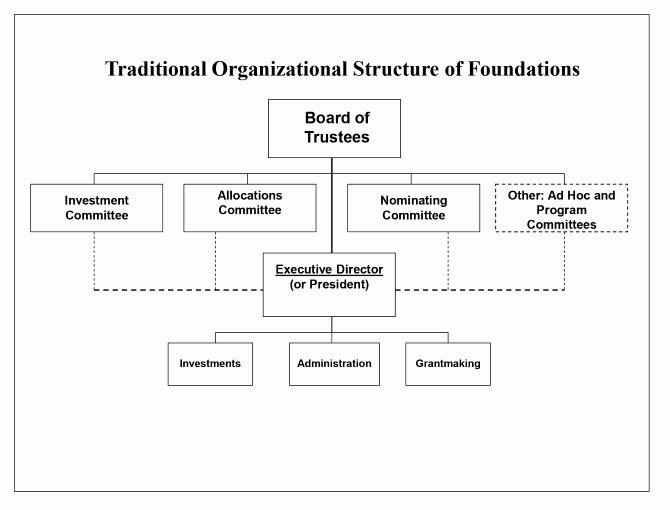 Non Profit organization Structure Template Beautiful Private Foundation organizational Structure