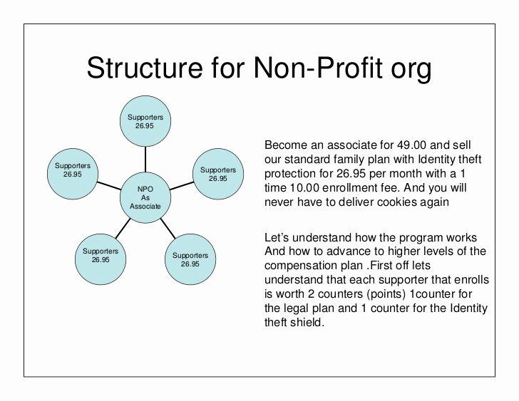 Non Profit organization Structure Template Beautiful Structure for Non Profit org