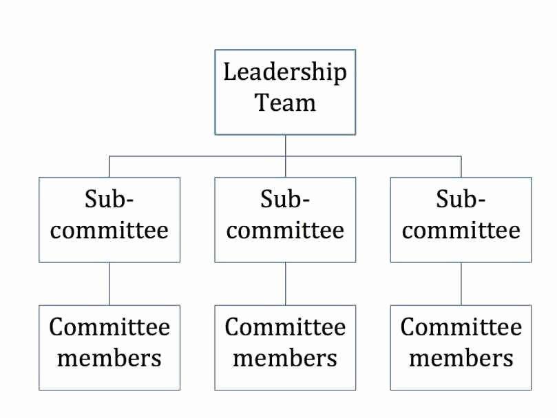 Non Profit organization Structure Template Best Of 9 Non Profit organizational Chart Template Update234