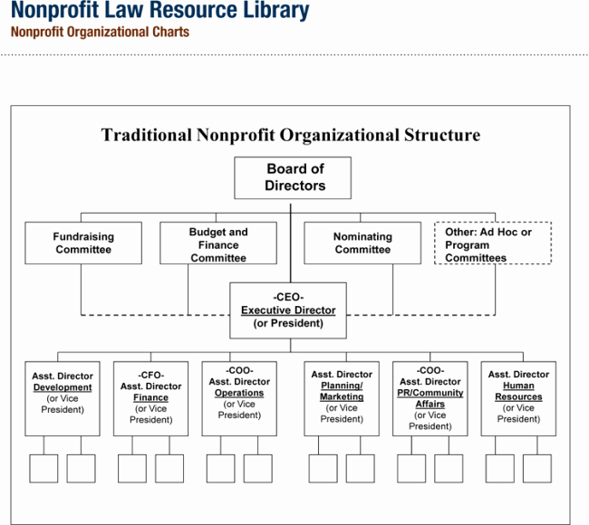 Non Profit organization Structure Template Lovely Non Profit organizational Chart 5 Best Samples