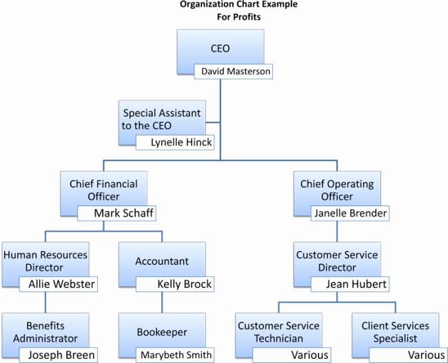 Non Profit organizational Chart Template Beautiful Non Profit organizational Chart 5 Best Samples