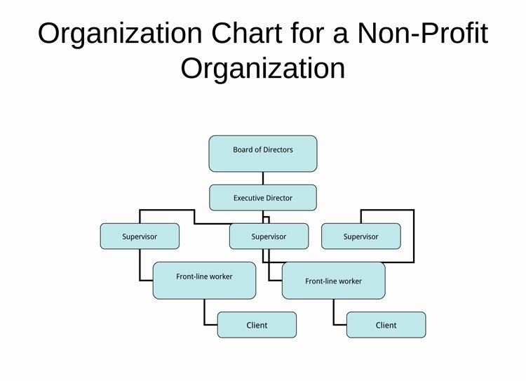 Non Profit organizational Chart Template Lovely Non Profit organizational Chart 5 Best Samples