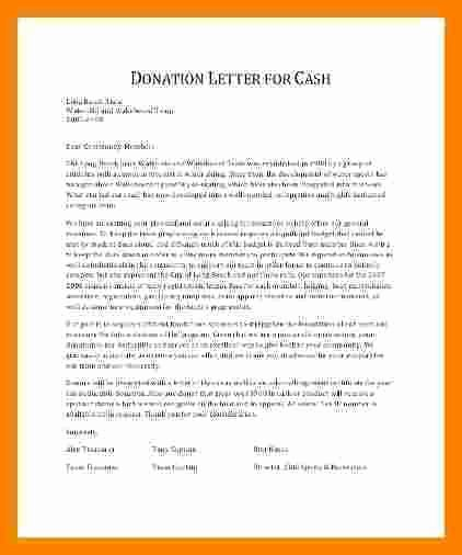 Non Profit Receipt Template Unique 7 Donation Letter for Non Profit