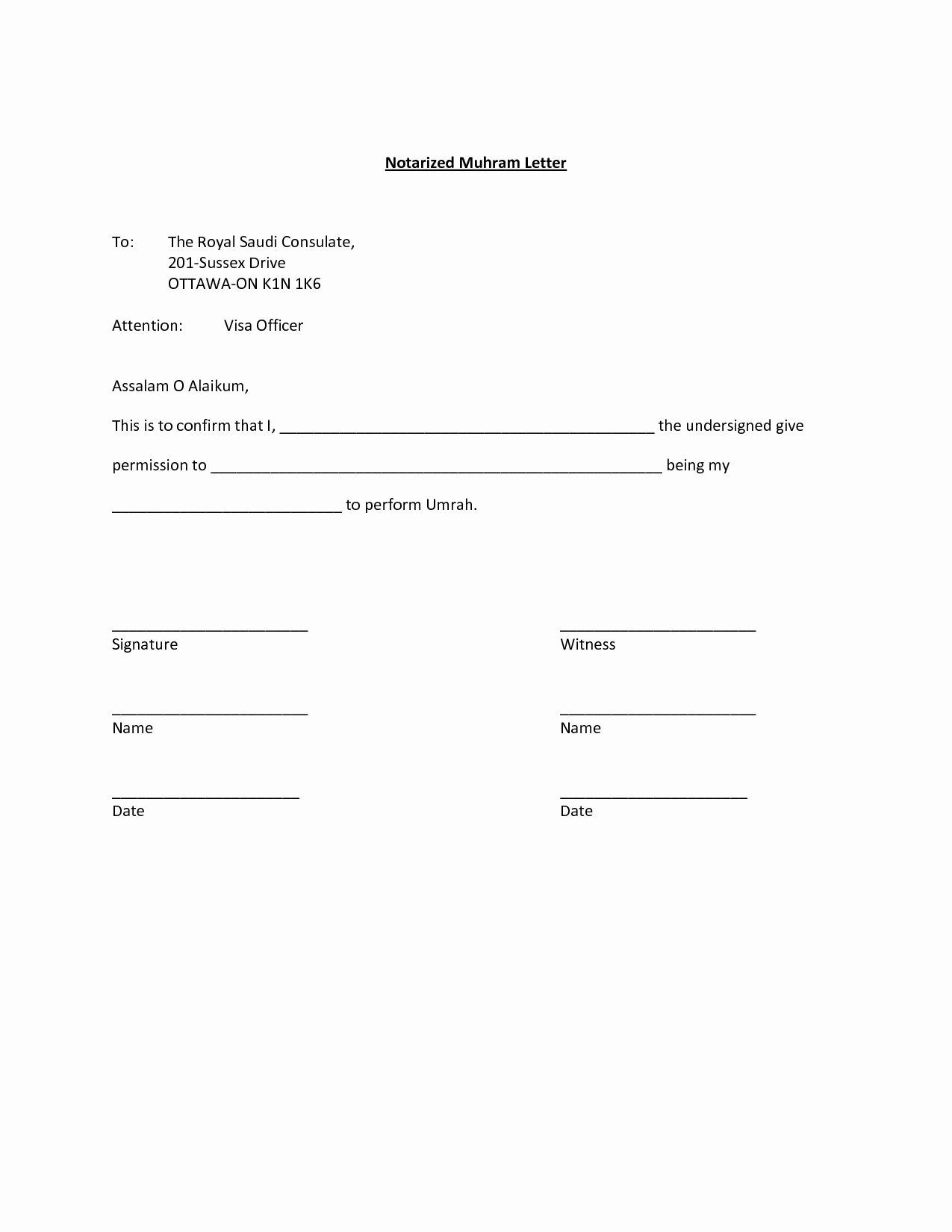 Notarized Letter Template Word Best Of Best S Of Sample Notarized Letter Signature