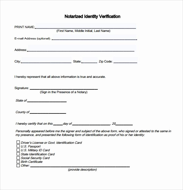 Notarized Letter Template Word Best Of How to Get A Letter Notarized