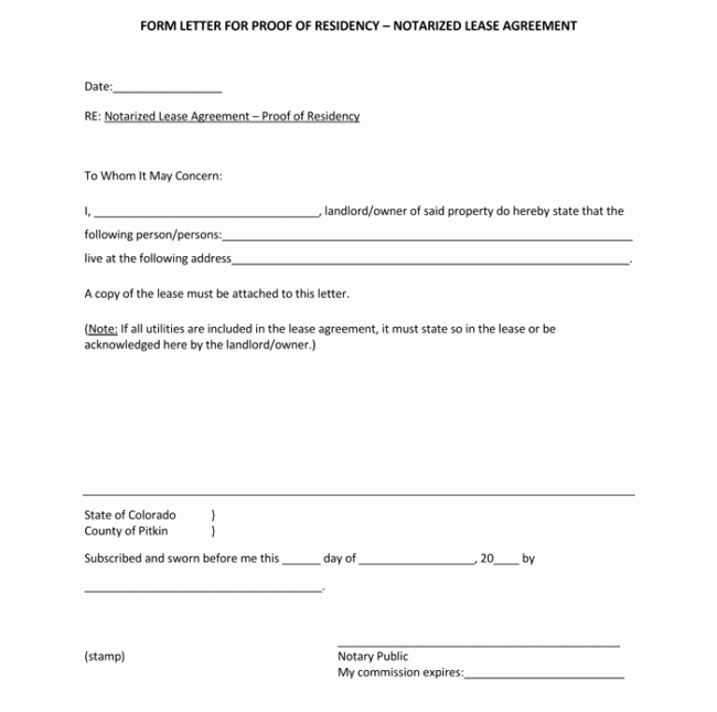Notarized Letter Template Word Inspirational 25 Notarized Letter Templates & Samples Writing Guidelines