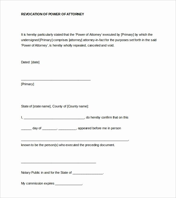 Notarized Letter Template Word Inspirational Notarized Letter
