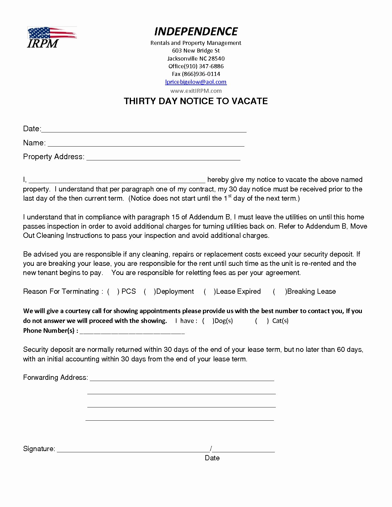 Notice to Vacate Letter Template Beautiful Notice to Vacate Apartment Letter Template Samples