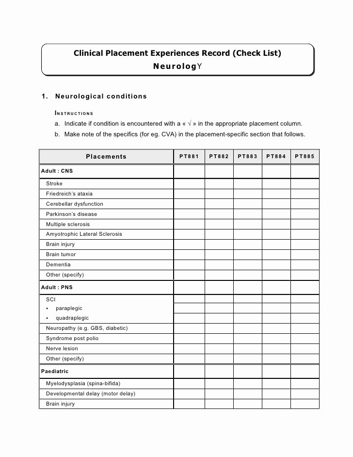 Nursing Competency assessment Template Awesome Nursing Petency Checklist Related for Nursing
