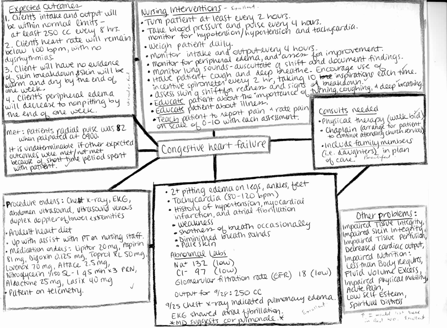 Nursing Concept Map Template Elegant Nursing Concept Maps Process