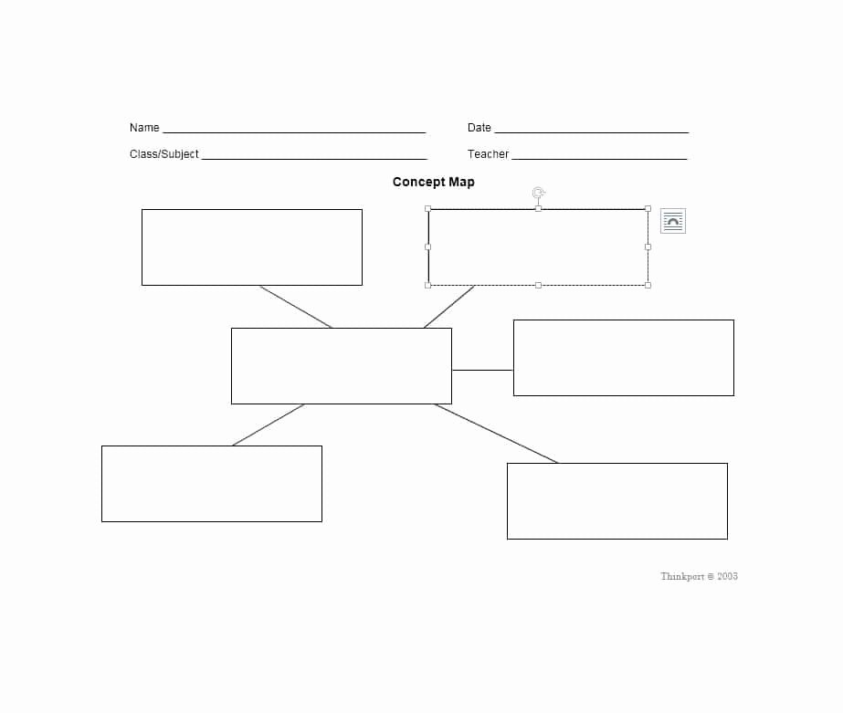 Nursing Concept Mapping Template Beautiful 40 Concept Map Templates [hierarchical Spider Flowchart]