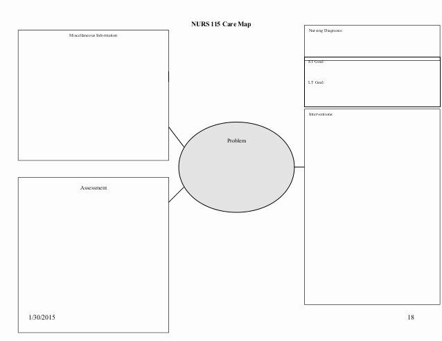 Nursing Concept Mapping Template Fresh 21 Of ati Concept Map Template