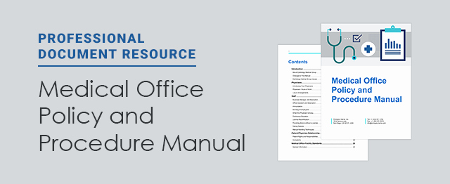 Office Procedures Manual Template Lovely New Resource Free Medical Fice Policy and Procedure