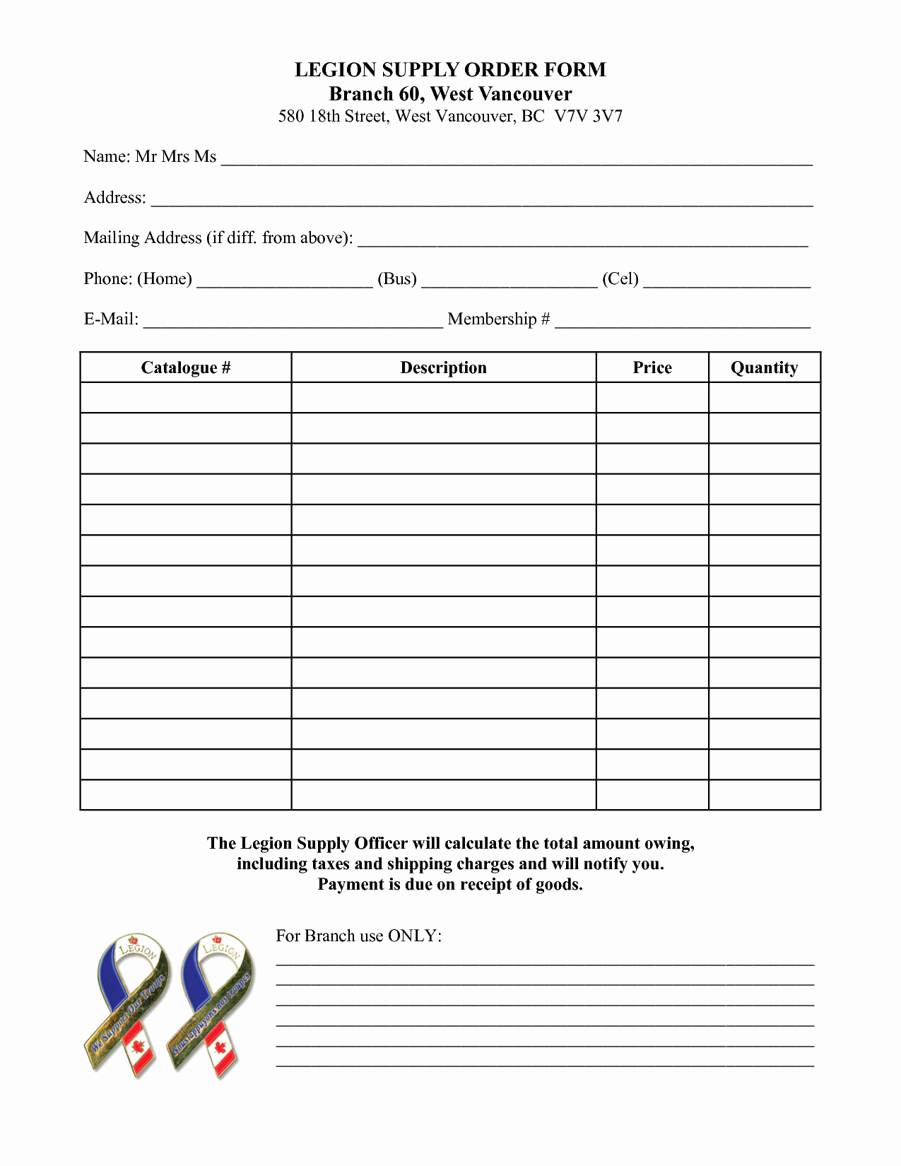 Office Supply order form Template Awesome Best S Of Fice Supply order form Template Fice