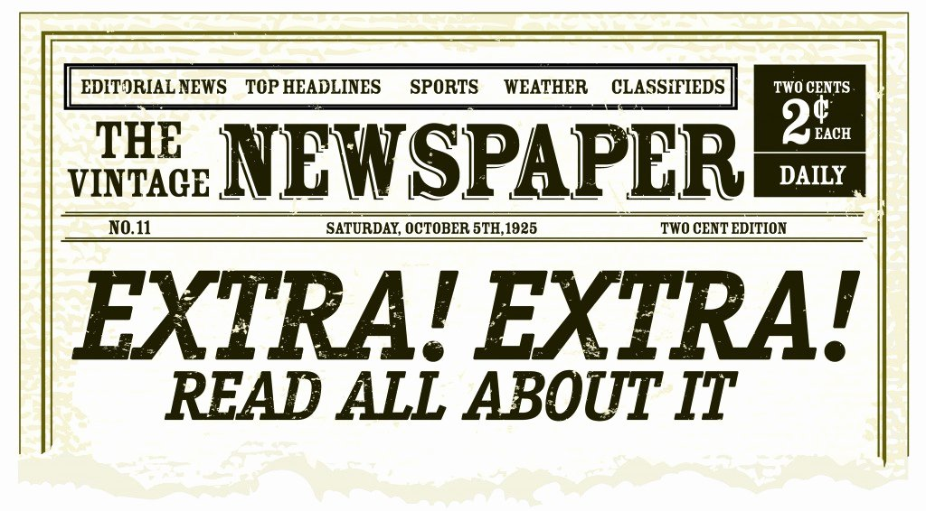 Old Newspaper Template for Word Awesome Old Newspaper Template