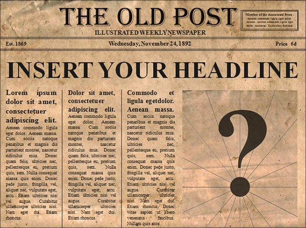 Old Newspaper Template for Word Elegant Free 53 Amazing Newspaper Templates In Pdf Ppt Word
