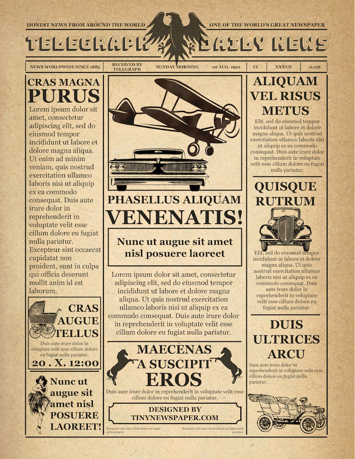 Old Newspaper Template for Word Inspirational Old Newspaper Template Word