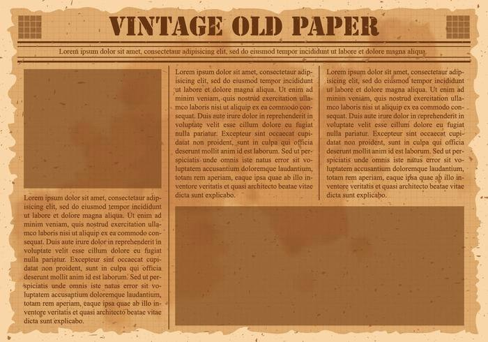 Old Newspaper Template for Word Inspirational Old Vintage Newspaper Download Free Vector Art Stock