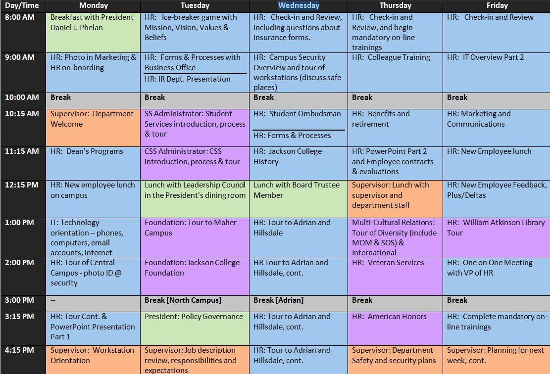 Onboarding Checklist Template Excel Unique Boarding Schedule Template