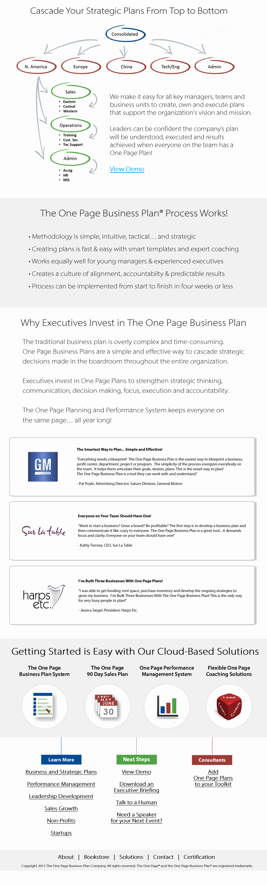 One Page Business Plan Template Fresh Business and Strategic Plans