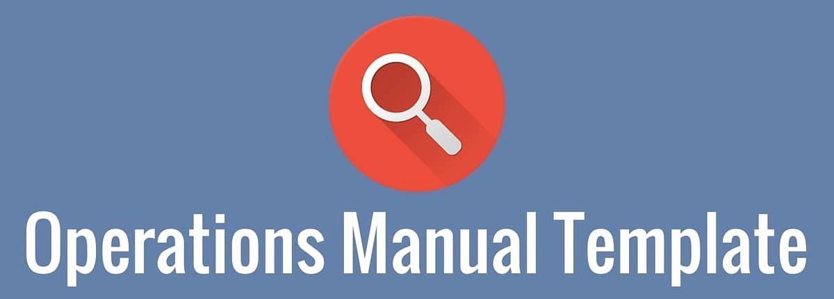 Operations Manual Template Free New Operations Manual Template 3bug Media