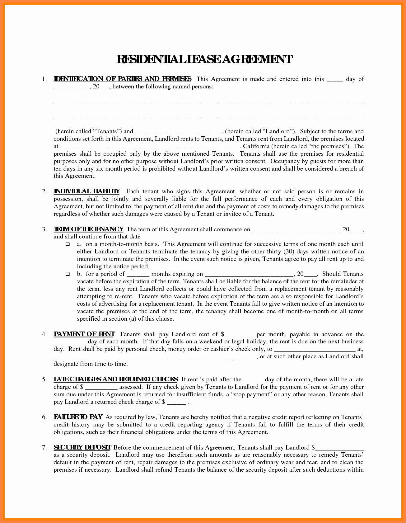 Owner Operator Lease Agreement Template Best Of 7 Owner Operator Lease Agreement Template
